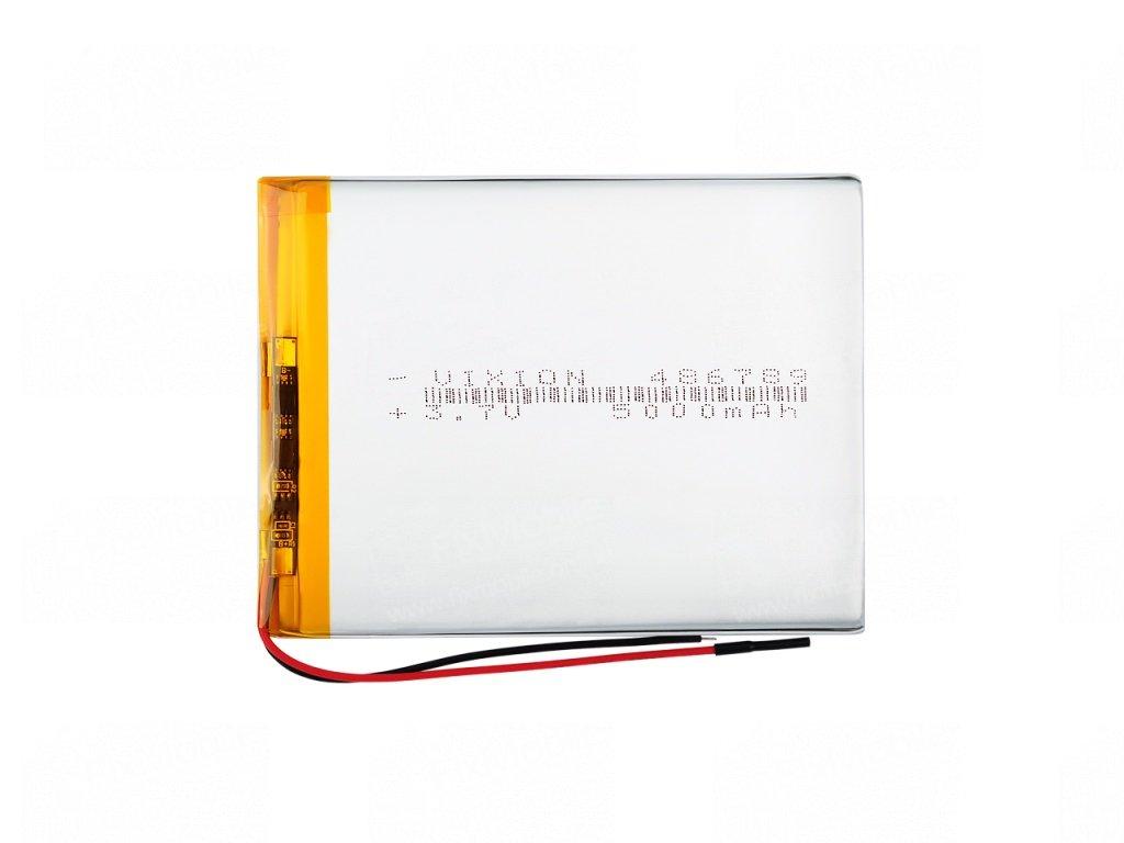 Аккумуляторная батарея универсальная 486789p 3,7v 3500 mAh (4,8*67*89 мм)