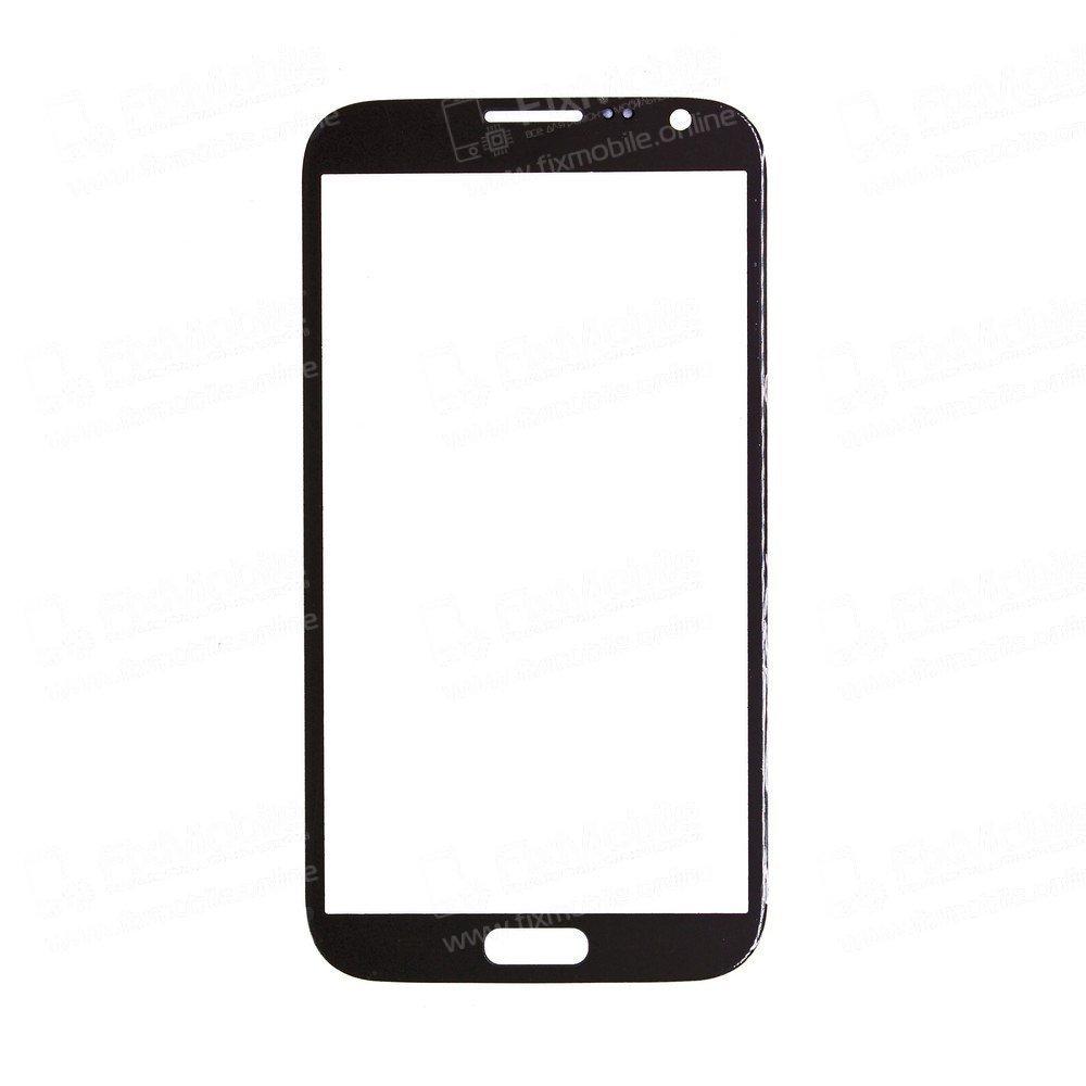 Стекло для Samsung Galaxy Note 2 (серое)