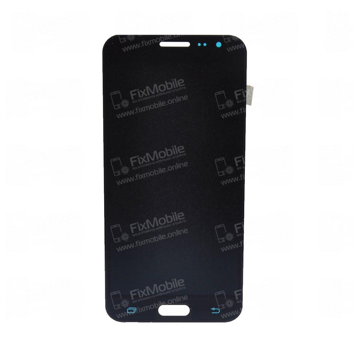 Дисплей для Samsung Galaxy J3 2016 с тачскрином (черный) - TFT