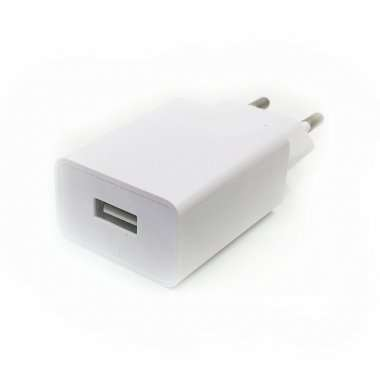 Универсальное зарядное устройство 220V-USB iPhone 1A (кубик) — 1